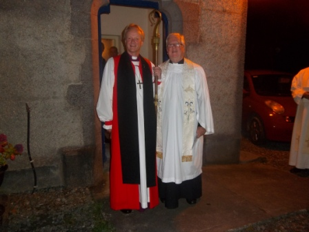 Bishop Rooke and Revd Stan Evans