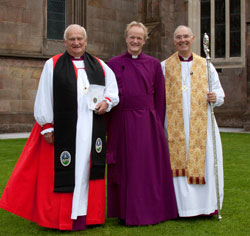 Lord Eames, Bishop Rooke, Archbishop Harper