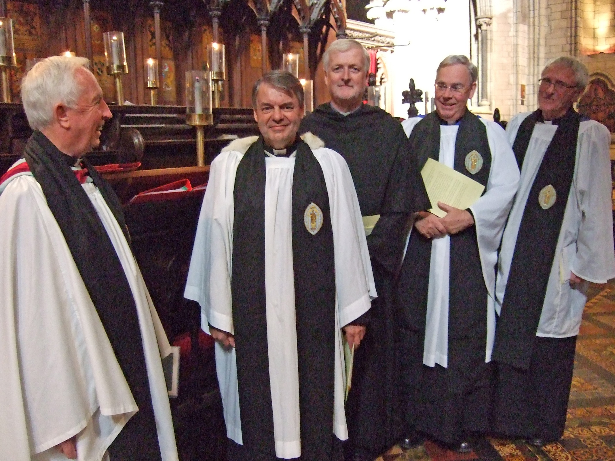 New Ecumenical Canons and Canons at St Patrick's Cathedral, Dublin