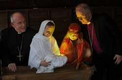 Cardinal Sean Brady and Archbishop Richard Clarke at Nativity at the Shambles, Armagh